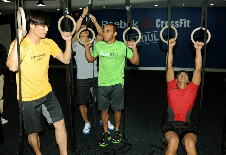 Lewis Hamilton Reebok CrossFit Korea