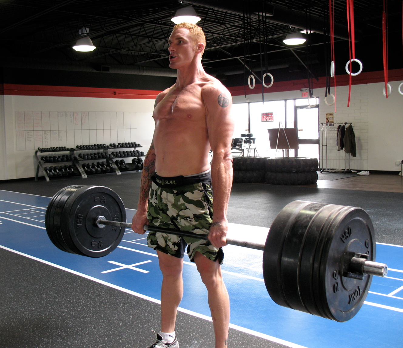 CrossFitter Jason Macdonald