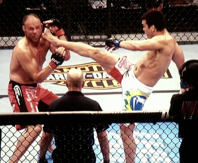 Lyoto Machida Kick to Face