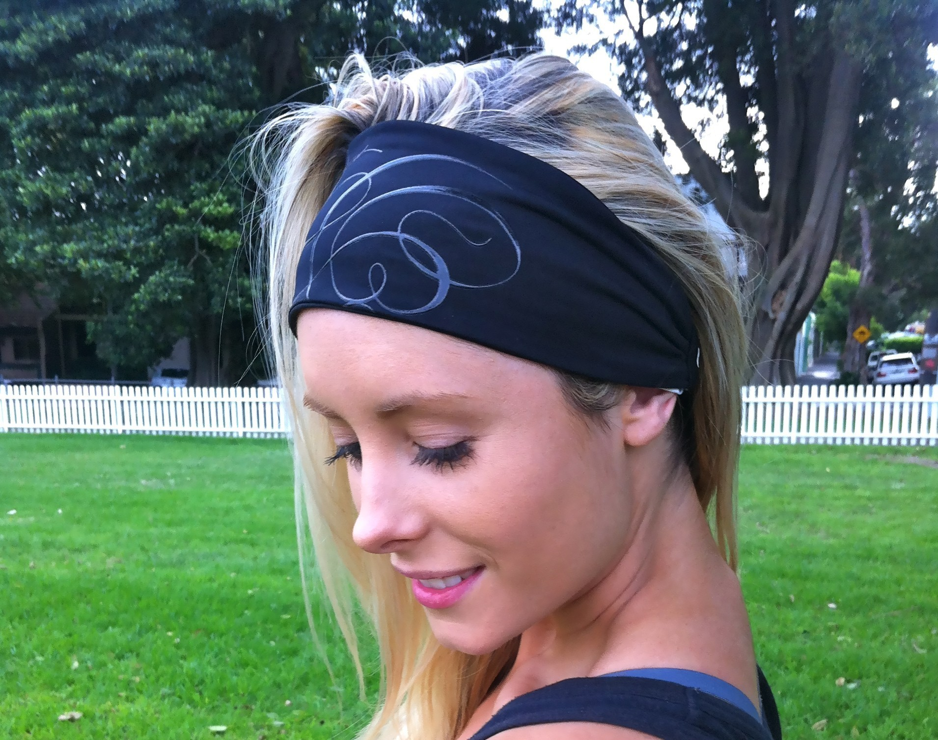 Emma Walsh Reebok CrossFit Headband Side