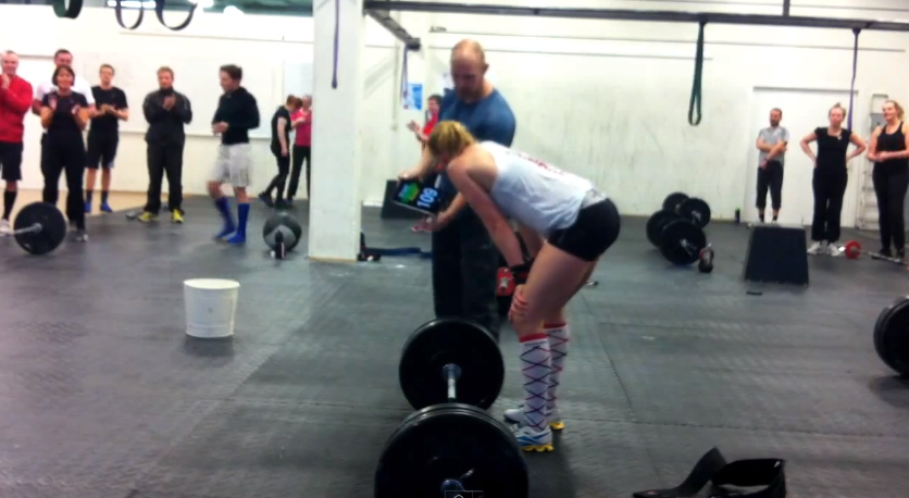 Annie Thorisdottir post Reebok CrossFit WOD 12.2