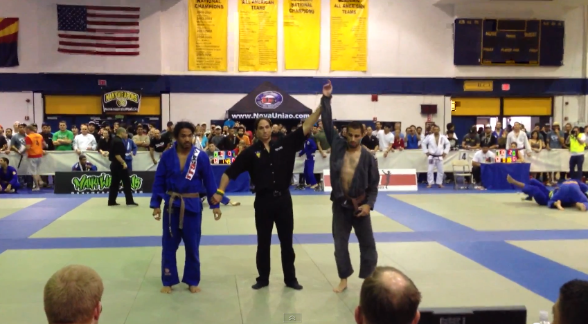 Ben Henderson Submitted at the 7th Arizona Brazilian Jiu JItsu International Open