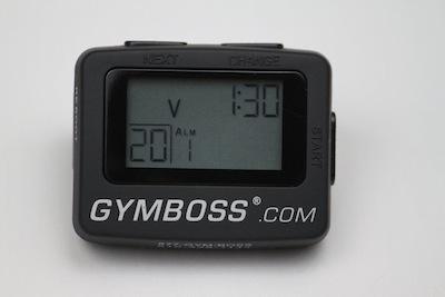 Gymboss_Black Timer