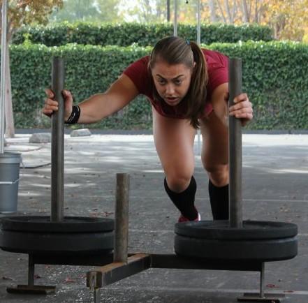 Katie Hogan Sled Push