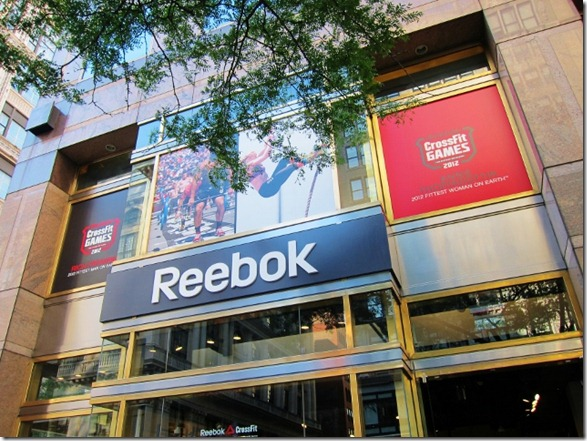 Reebok Fit Hub in NYC