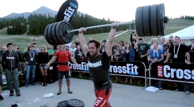 Froning Clean and Jerks a new PR
