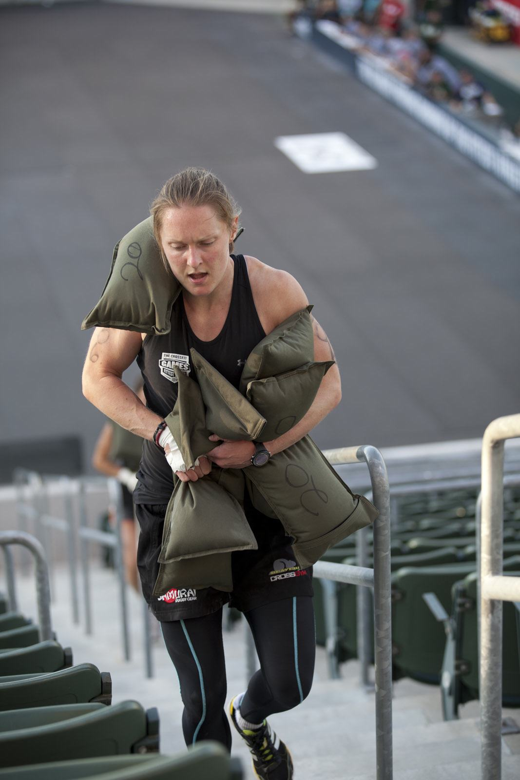 Samantha Briggs at the 2010 CrossFit Games