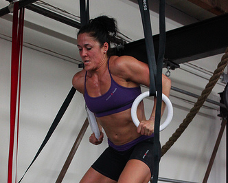 Amanda Allen Muscle Up Training