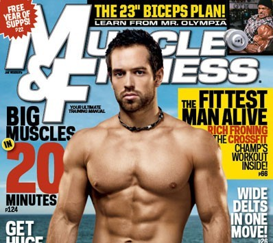 rich froning jr announced as muscle fitness cover model