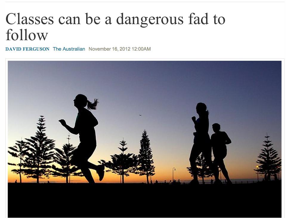 CrossFit in The Australian Newspaper