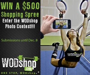 WOD Shop $500 Shopping Spree!