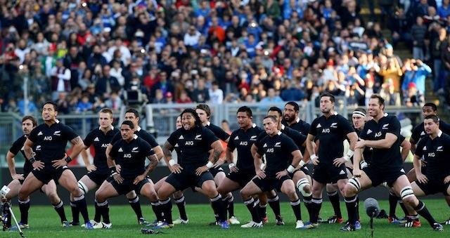 New Zealand All Black vs Wales
