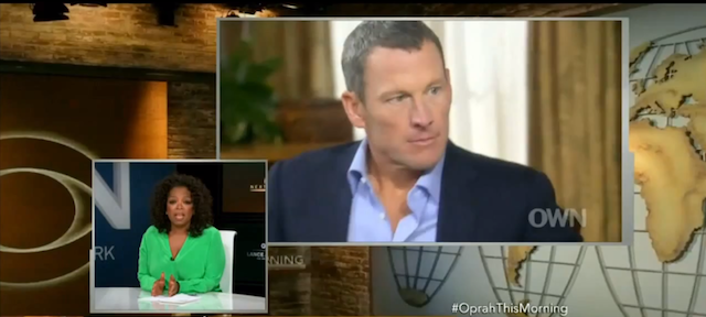 Oprah's interview with Lance Armstrong