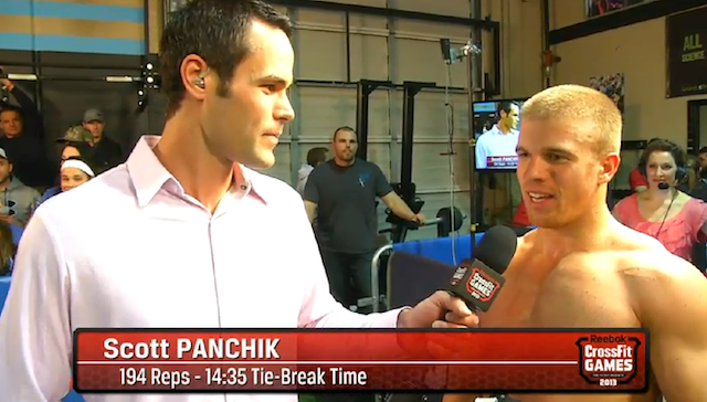 Scott Panchik 13.1 winner