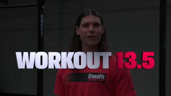 Workout 13.5