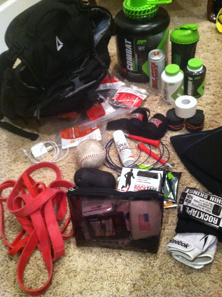 Katie Hogan's CrossFit Competition Bag