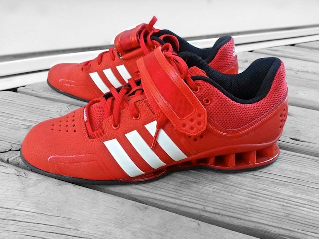 AdiPower Weightlifting Shoes Profile