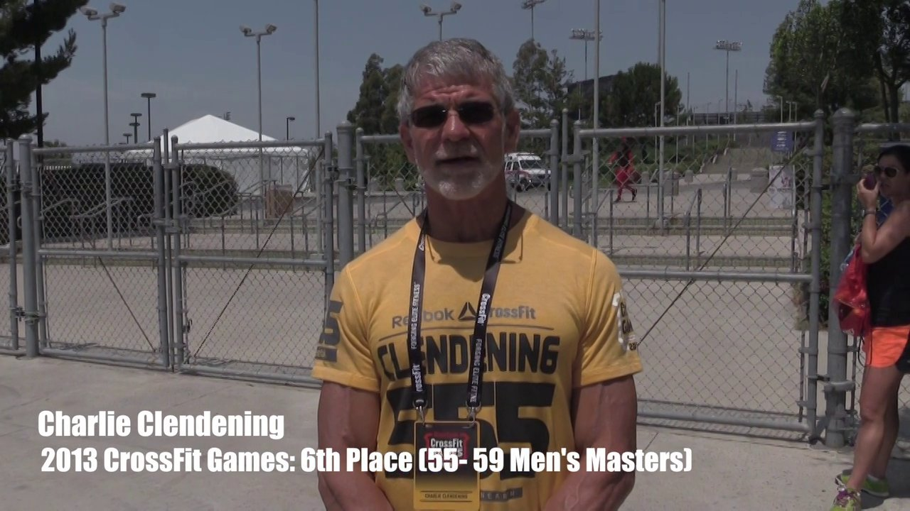 Video thumbnail for vimeo video Charlie Clendening: 6th Place - 55-59 Mens Masters Division