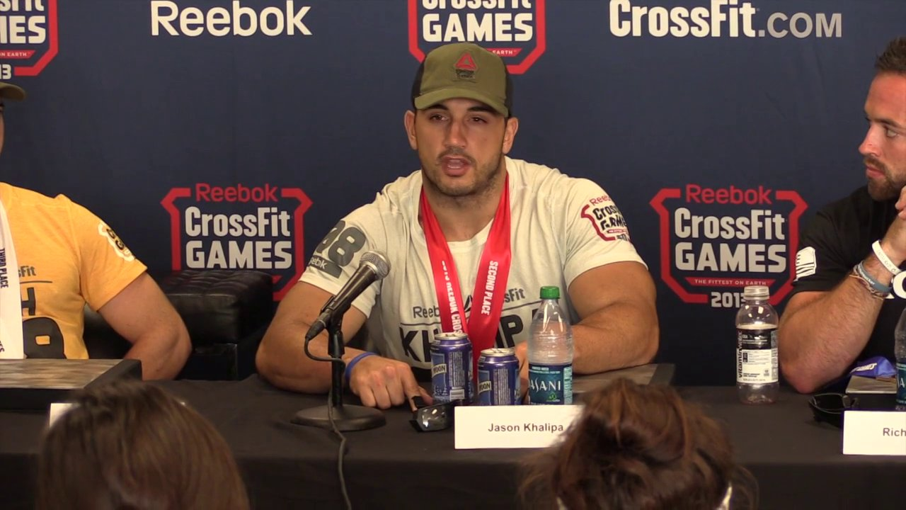 Video thumbnail for vimeo video Jason Khalipa: 2013 CrossFit Games Runner-Up
