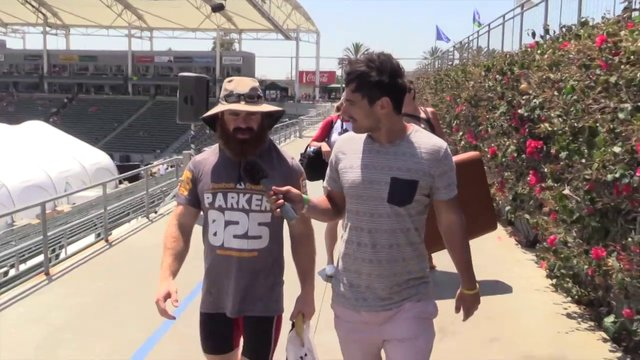 Video thumbnail for vimeo video Lucas Parker: 2013 CrossFit Games Day 3