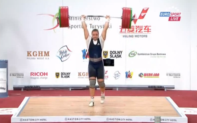 Tatiana Kashirina C&J 190kg World Record