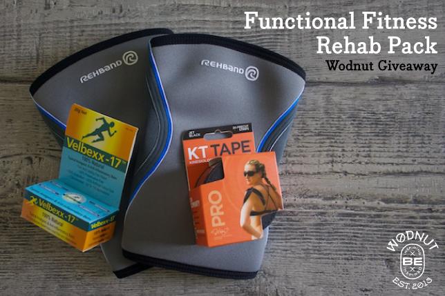 WODNut Giveaway Rehab Pack