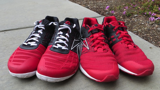 Reebok CrossFit Nano 3.0 vs Reebok CrossFit Nano Speed