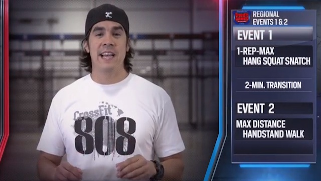 2014 CrossFit Regionals Day 1 Workouts