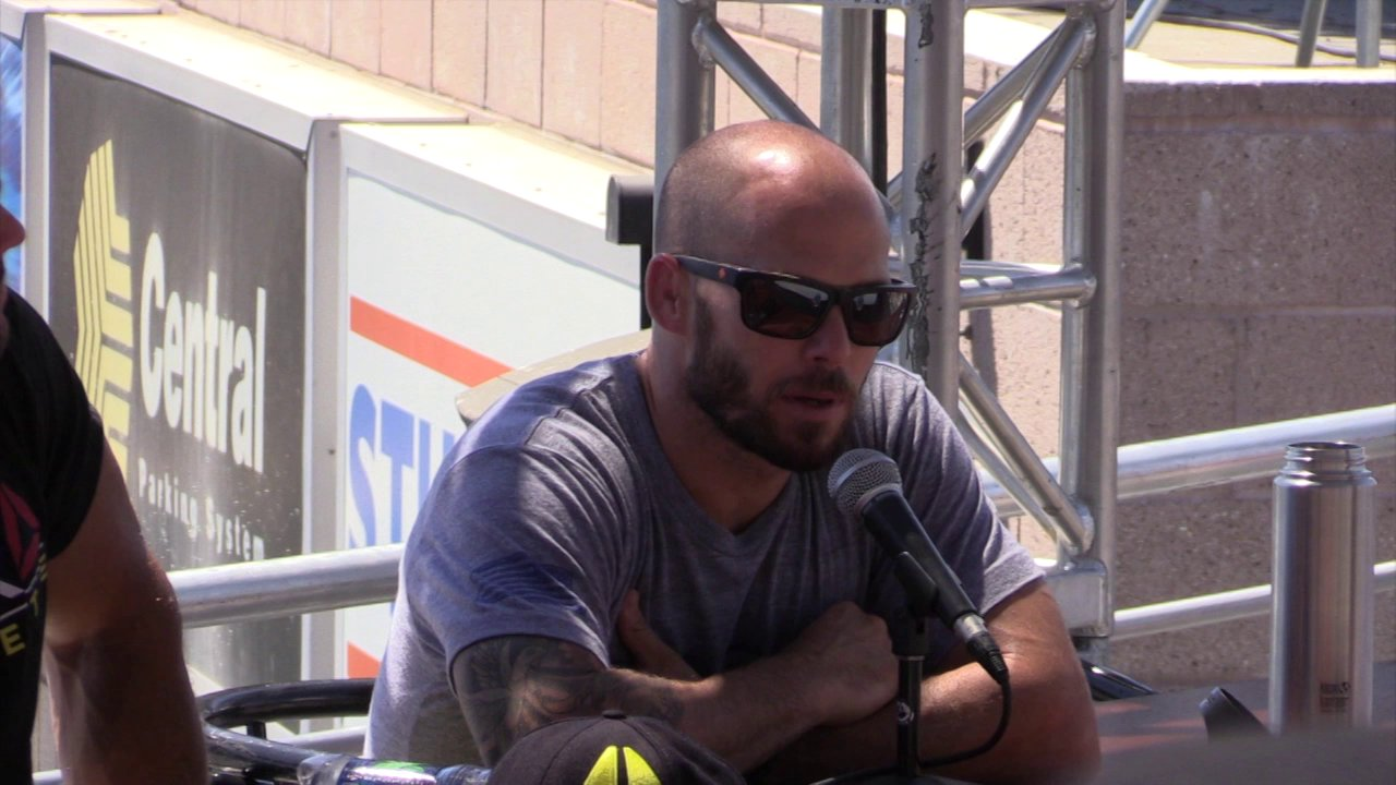 Video thumbnail for vimeo video Chris Spealler on His Final Ever CrossFit Games