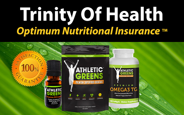 Athletic Greens Trinity Pack