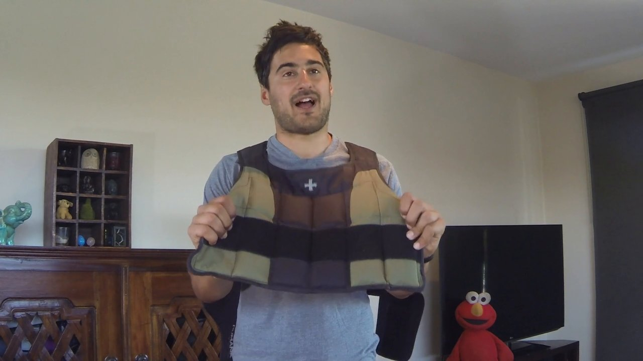 Video thumbnail for vimeo video Review: Harbinger HumanX Weight Vest