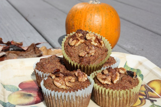 Paleo Maple Pumpkin Muffins