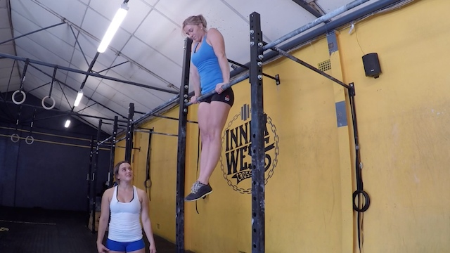 lerning the bar muscle up muscle-up