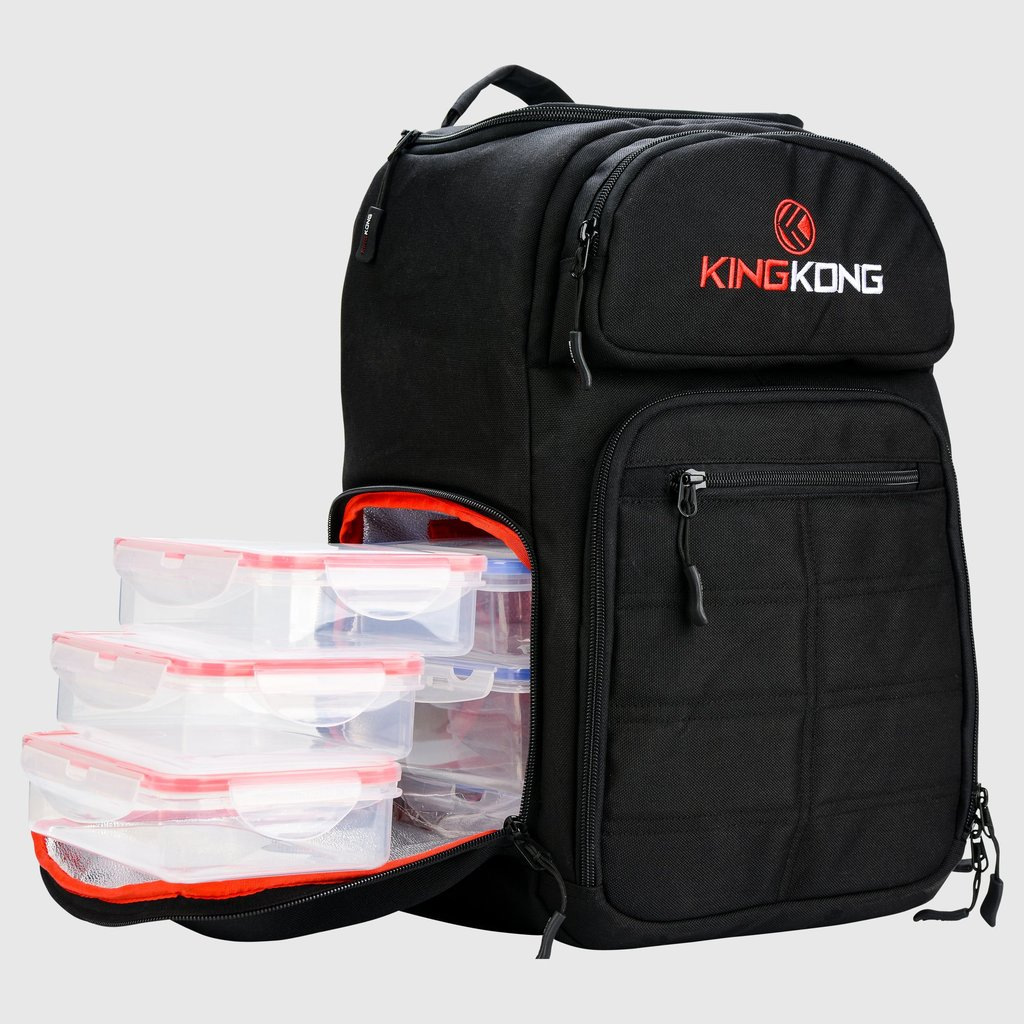 king kong fuel meal prep backpack