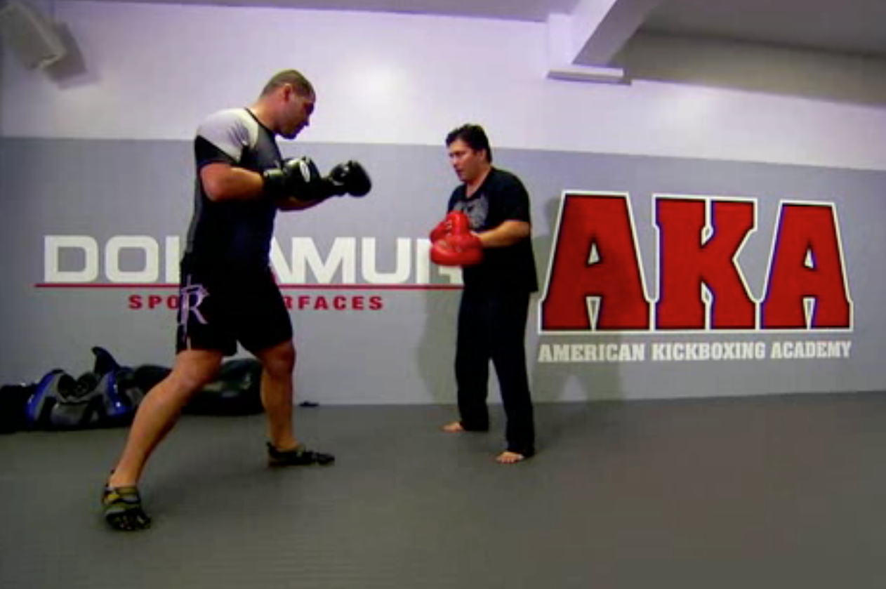 Cain Velasquez in Vibrams
