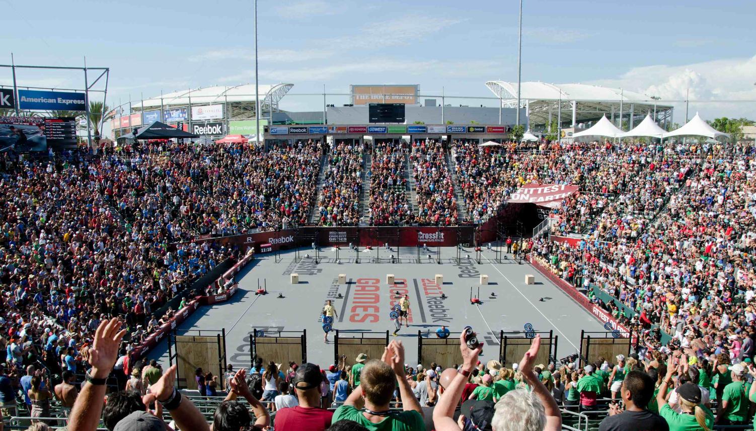 CrossFit Crowd 2011 Games