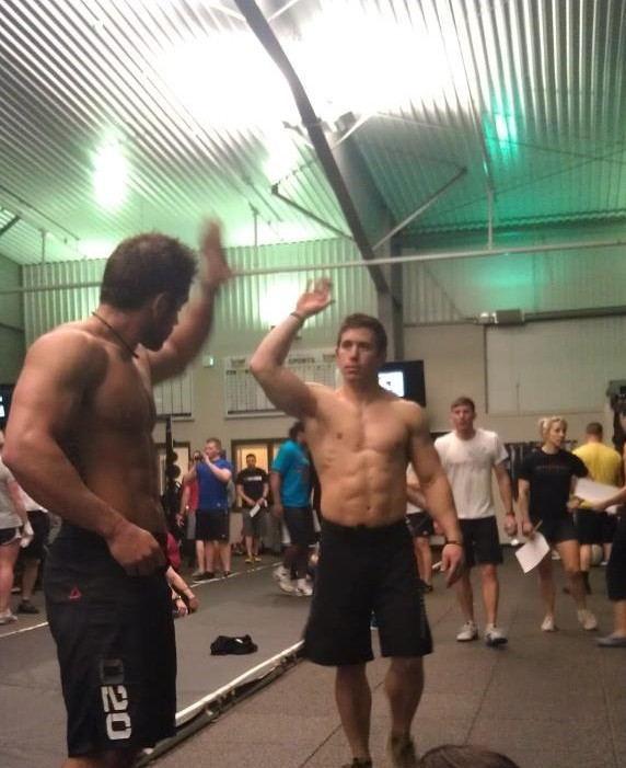 Froning and Bailey CrossFit Games Open 2012