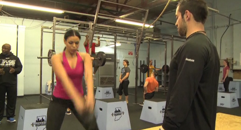 Jordan Sparks with Rich Froning