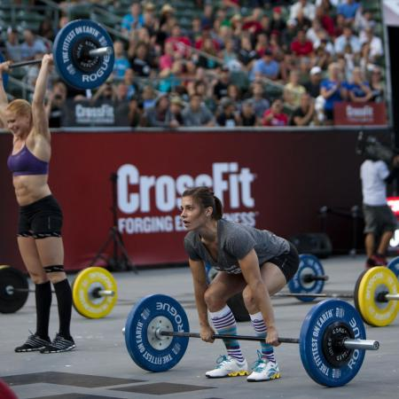 Julie Foucher - New Leader in 2012 CrossFit Games Open