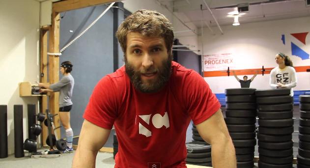 Pat Barber talks Reebok CrossFit Open workout 12.2