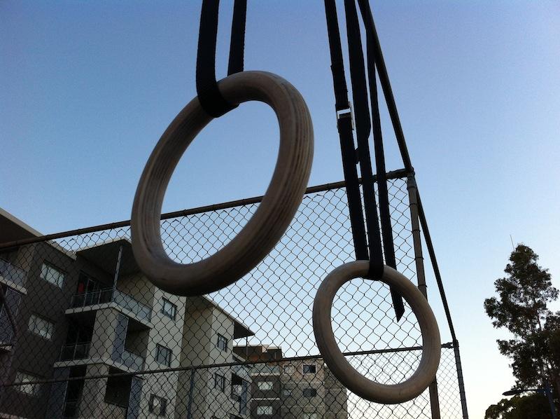 Fringe Sport Rings Hanging