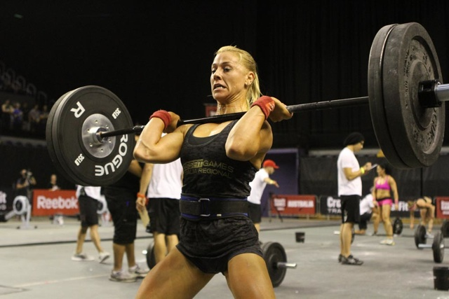Denae Brown at the 2012 Australian CrossFit Regionals