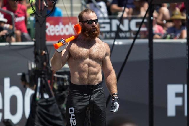 Lucas Parker CrossFit Games