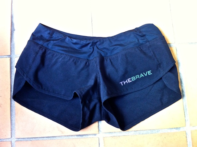 The Brave Workout Shorts Front