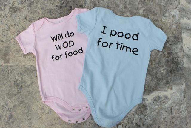 WOD Kids Baby Romper
