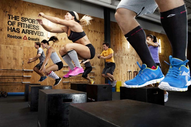 Box Jumps! CrossFit Workouts for Students
