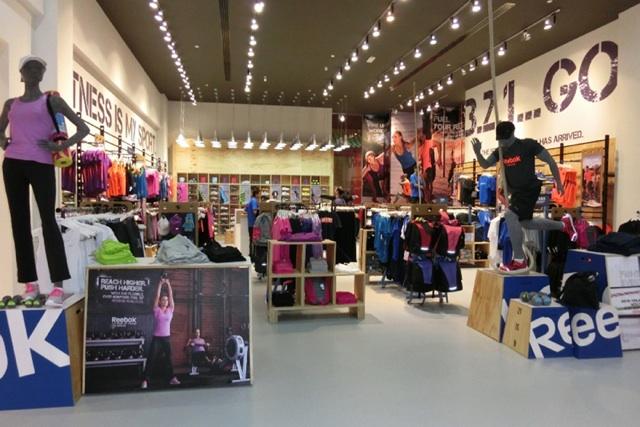 Reebok Fit Hub Store in Dubai