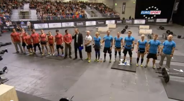 CrossFit Invitational Footage