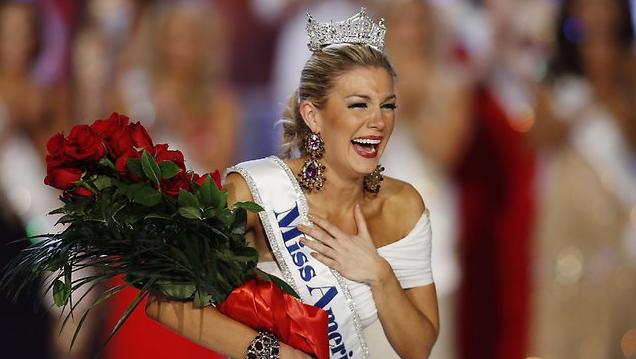 2013 Miss America Mallory Hagan