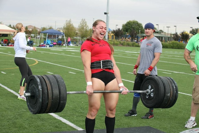 Katie Hogan Deadlifting